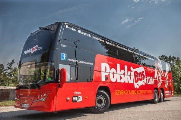 PolskiBus - польский автоперевозчик