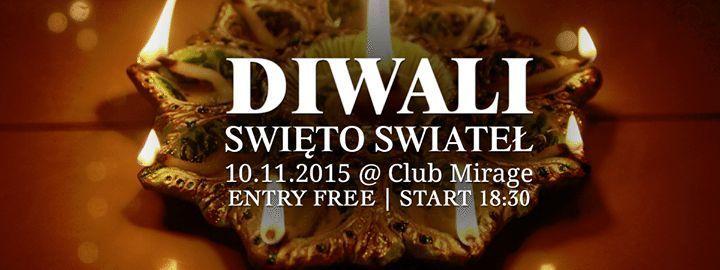 Дивали — фестиваль огней в Варшаве (10.11.2015)