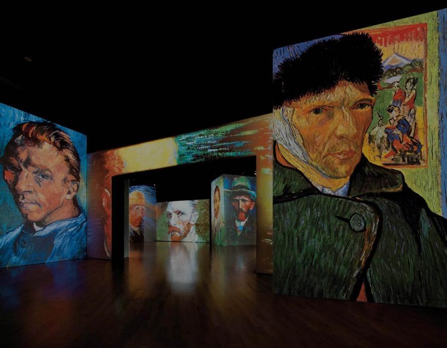 Мультимедийная выставка Van Gogh Alive в Варшаве (14.11.2015-14.02.2016)