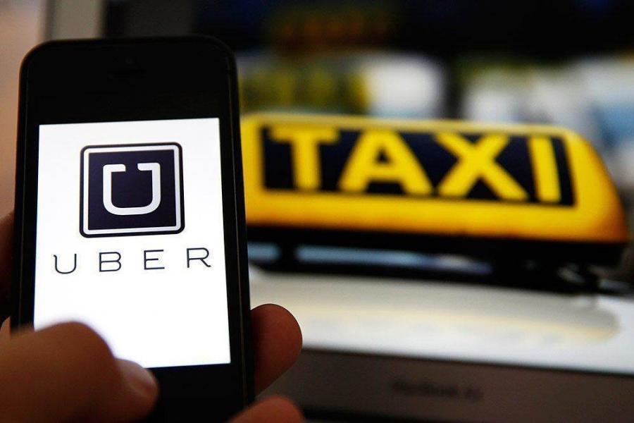 Приложение Uber для заказа такси