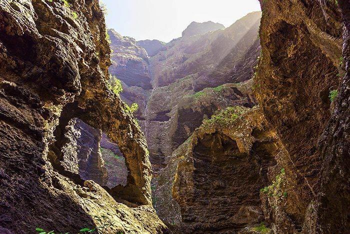 Самостоятельное посещение ущелья Маска на Тенерифе