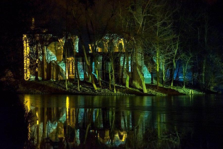fotootchet s poseshhenija zimnego vechera sveta v parke korolevskie lazenki v varshave 12 Фотоотчет с посещения «Зимнего вечера света» в парке Королевские Лазенки в Варшаве