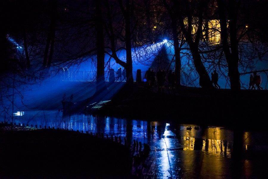 fotootchet s poseshhenija zimnego vechera sveta v parke korolevskie lazenki v varshave 17 Фотоотчет с посещения «Зимнего вечера света» в парке Королевские Лазенки в Варшаве