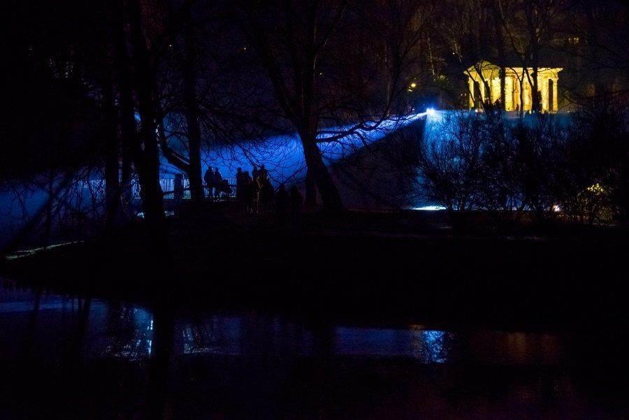 fotootchet s poseshhenija zimnego vechera sveta v parke korolevskie lazenki v varshave 18 Фотоотчет с посещения «Зимнего вечера света» в парке Королевские Лазенки в Варшаве