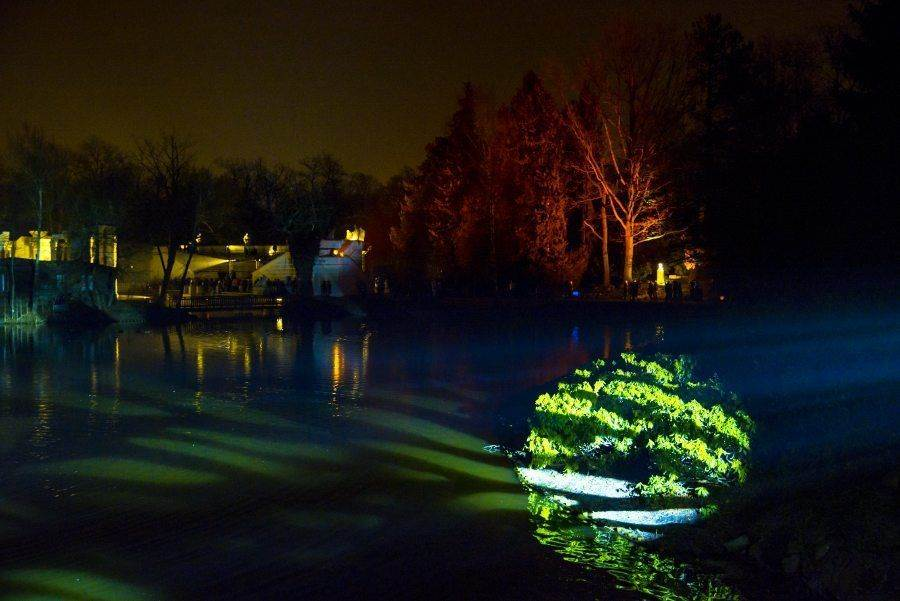 fotootchet s poseshhenija zimnego vechera sveta v parke korolevskie lazenki v varshave 2 Фотоотчет с посещения «Зимнего вечера света» в парке Королевские Лазенки в Варшаве