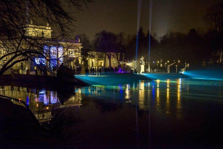 fotootchet s poseshhenija zimnego vechera sveta v parke korolevskie lazenki v varshave 20 Фотоотчет с посещения «Зимнего вечера света» в парке Королевские Лазенки в Варшаве