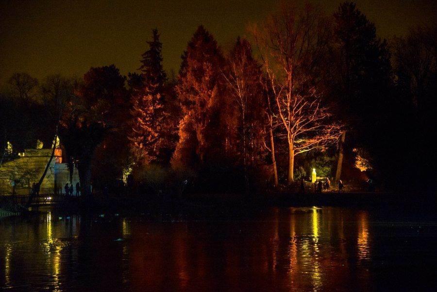 fotootchet s poseshhenija zimnego vechera sveta v parke korolevskie lazenki v varshave 26 Фотоотчет с посещения «Зимнего вечера света» в парке Королевские Лазенки в Варшаве