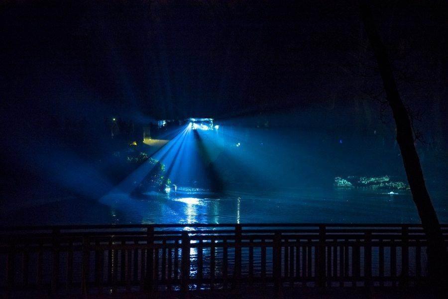 fotootchet s poseshhenija zimnego vechera sveta v parke korolevskie lazenki v varshave 9 Фотоотчет с посещения «Зимнего вечера света» в парке Королевские Лазенки в Варшаве