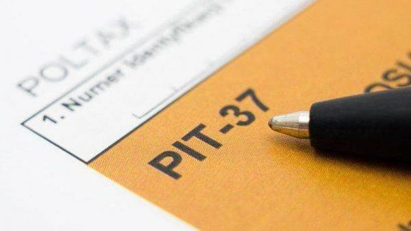 Заполнение налоговой декларации PIT-37 за 2015 год