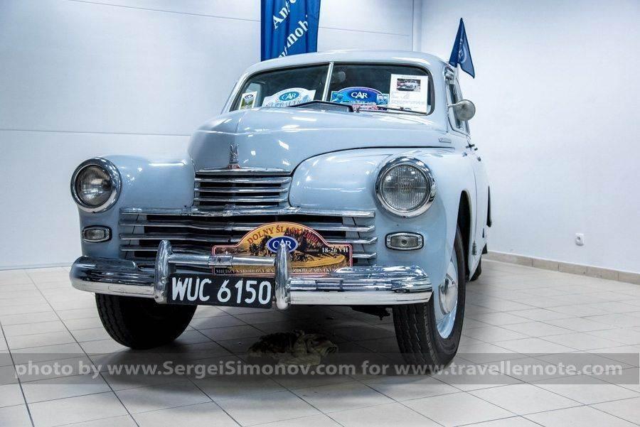 Выставка ретро автомобилей Warsaw Oldtimer Show 2016