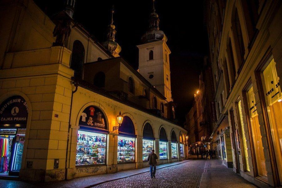 Вечерняя Прага: фотоотчет
