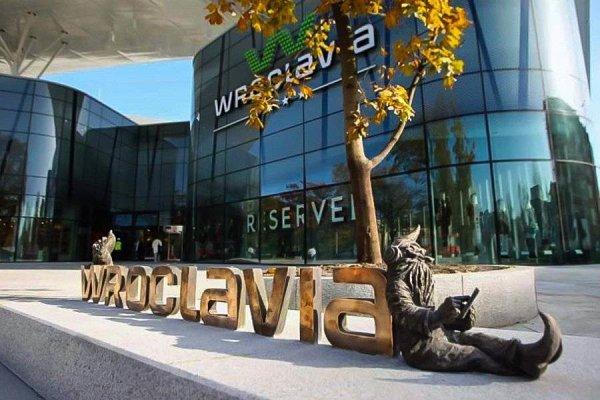 Wroclavia - крупнейший торговый центр в Европе