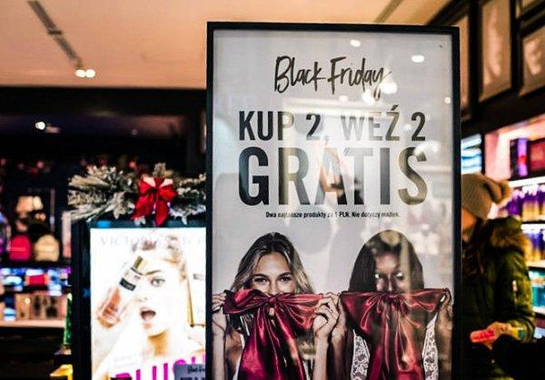 Black Friday 2017. Черная пятница в Польше [список магазинов, скидки, рекламные акции]
