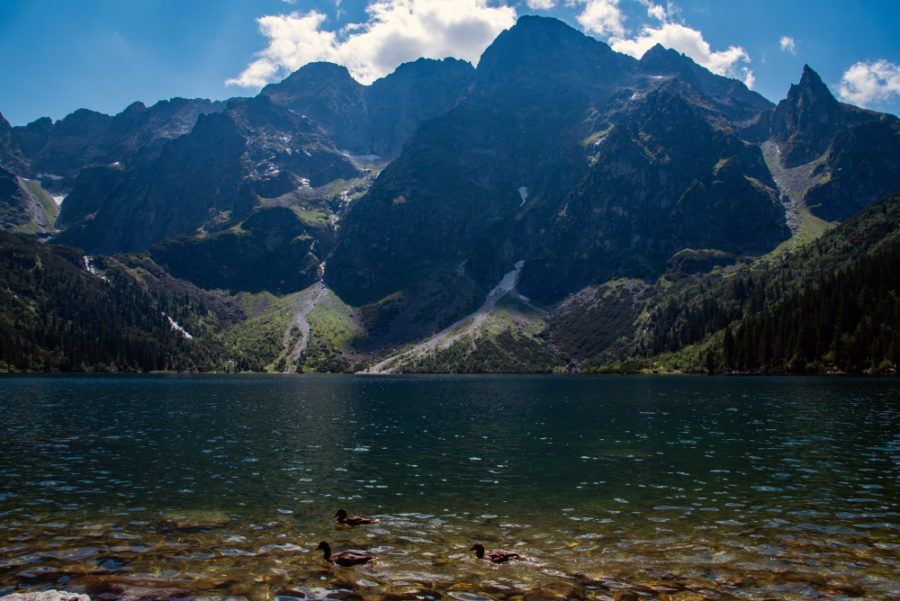 Наша прогулка к горному озеру Морское око (Morskie Oko)