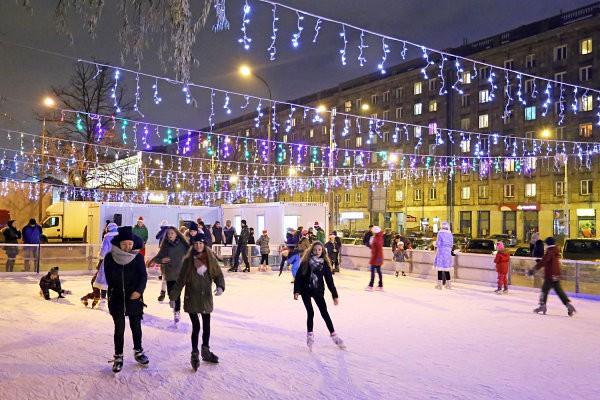 Где покататься на коньках в Варшаве зимой 2020 года