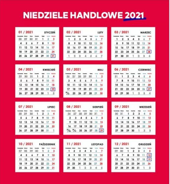 Режим работы магазинов в Польше в 2021 году
